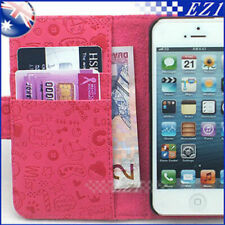 Witch Credit Card Pouch Wallet Case PU Leather Cover For Samsung Galaxy S2 I9100