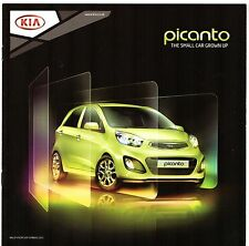 KIA PICANTO 2011-12 UK Opuscolo Vendite sul mercato 3-dr 5-dr 1 1 Air 2 3 Halo Equinox