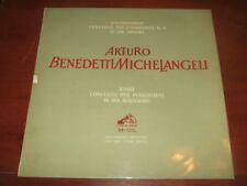 MICHELANGELI / RACHMANINOV / RAVEL - CONCERTI  LA VOCE DEL PADRONE WALP 10196 LP