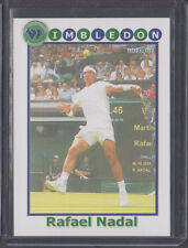 1/1 UNIQUE RAFAEL NADAL 2014 Wimbledon Card RARE RARE RARE