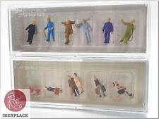 N 1:160 Scale Figures Model Set Preiser Walking Travellers Track Workers