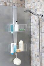 XL Duschregal Wandregal Badregal Badezimmerregal Regal für die Dusche Aluminium