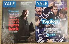 Connecticut Magazines lot 2 & Yale Magazines lot 4 (FC6-1)