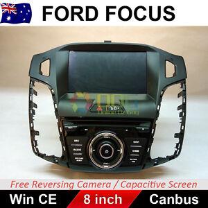 8 Inch Car DVD GPS Navigation Head Unit For Ford Focus 2012-2014 LW LWII