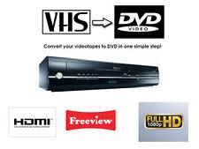 Toshiba D-VR18 combinazione DVD VCR VIDEOREGISTRATORE COMBO copiare vhs DVD 1080P