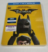 The LEGO Batman Movie Blu-Ray DVD Exclusive Steelbook NEW SEALED