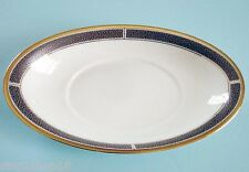 Wedgwood Shagreen Sauce Boat Stand Cocoa New