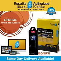 Rosetta Stone® LIFETIME Complete Course UNLIMITED Free Headset app Pick Language