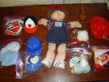 Vintage 1983 Cabbage Patch 17 ' Inches With Lots Of Changing Outfits Great!