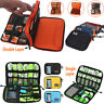 Portable Cable Storage Bag Electronic USB Drive Organizer Case Gadget Travel Bag