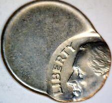 Way Off Center ERROR Roosevelt Dime Coin  Nice CH/ GEM BU O/C Lot #2  NO RESERVE