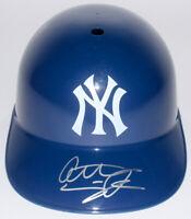 Anthony Seigler Signed New York NY Yankees Baseball Helmet ~JSA COA~ Autographed