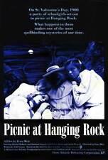 PICNIC AT HANGING ROCK Movie POSTER 27x40 B Rachel Roberts Vivean Gray Helen