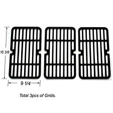 Brinkmann Gas Grill Grate for JHI411 Stamped Porcelain Steel Cooking Grid -3pack