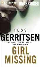 TESS GERRITSEN / GIRL MISSING    [ Audiobook ]