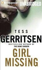 TESS GERRITSEN / GIRL MISSING    [ Audiobook ]