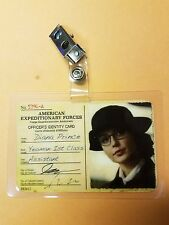 Wonder Woman  ID Badge-Officer's Identy Card  Diana Prince cosplay costume prop