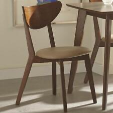 Kersey Walnut Finish Dining Side Chair by Coaster 103062 - Set of 4