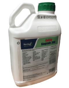 GALLUP BIOGRADE 360 5L VERY STRONG PROFESSIONAL GLYPHOSATE HERBICIDE Weedkiller