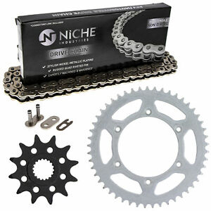 Sprocket Chain Set for Suzuki RM125 12/49 Tooth 520 Front Rear Kit Combo