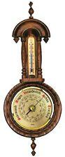 Fischer meteo interno d'attesa, barometri, termometri, quercia soddisfacente, 7278-34