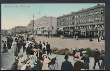 Sussex Postcard - East Parade, Worthing    RS6422