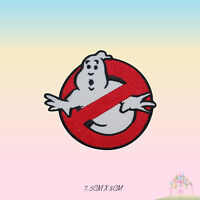 Ghost Buster Movie Comics Embroidered Iron On Patch Sew On Badge