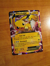 EX PIKACHU EX Pokemon Card PROMO Black Star XY84 Set Ultra Rare X&Y Legendary