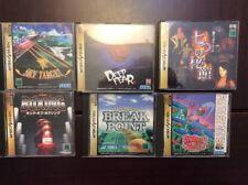Lote Sega Saturn. Fantasy Zone, Sky Target, Deep Fear, etc.