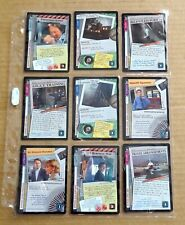 THE X-FILES PREMIERE EDITION CCG/TCG SLEEVE OF 9 x COMMON CARDS  NEW/1996  (G)