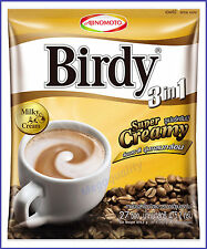 BIRDY 3 IN 1 INSTANT COFFEE MIX POWDER CREAM #CREAMY LATTE 27 STICKS
