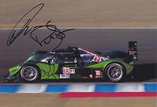 Paul Drayson y Jonny Cocker mano firmado 12x8 Foto Aston Martin Le Mans 2.