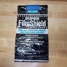 Sima film shield x-ray lead bag for camera film