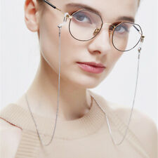 Vintage Eyeglass Holder Glasses Retainer Cord Eyewear Strap Metal Chain - Womens