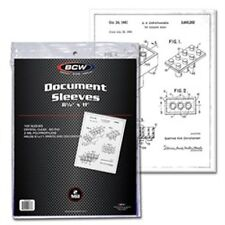 1 Pack (100) BCW 8.5 x 11 Print Photo Document Storage Sleeves Protection