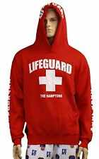 Lifeguard Kids The Hamptons NY Life Guard Sweatshirt Red