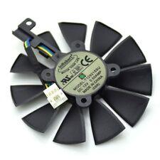 Cooler Fan For ASUS R9 390 390X RX580 GTX 980Ti 960G 970 1060 GTX1070