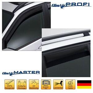 Fastback 5-T/ürer 2018 PDE ClimAir M2056 Fensterblenden Master Dark kompatibel mit Hyundai i30 hinten