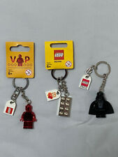 Lego Set of 3 Keychains: Star Wars Darth Vader, gold brick and Red VIP figure