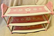"Battat Our Generation 18"" Doll CHANGING TABLE OR SHELVES American Girl  VGC"