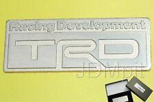 EXTREME RARE TRD trunk Emblem Lexus Toyota IS350 Corolla 4Runner Scion Supra MR2