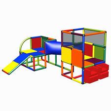 move and stic Nele Spielhaus für Kinderzimmer Motoriktrainer mit Rutsche 6021