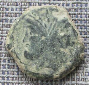 GNAEUS POMPEY JUNIOR  Roman bronze as c45BC