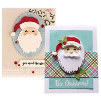 Santa Claus Metal Cutting Dies DIY Scrapbook Xmas Greeting Card Album Embossing