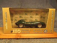 Brumm 1954-1960 Jaguar D-Type HP 260 w/Box & Case #R130 ORO Series  Mad in Italy