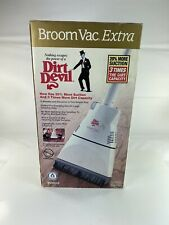New Vintage Dirt Devil Broom Vac Cordless Model BV2010
