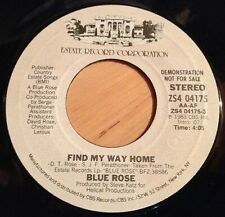 Blue Rose 45 Find My Way Home  PROMO