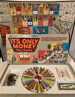 New VTG 1987 It's Only Money The Game Board Game Mall Strategy STILL SEALED!
