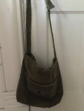 Handmade Handbag Made From Recycled Corduroy Fully Lined