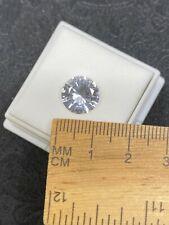 Lovely Faceted Danburite Gemstone in JTV Gem Jar- 4.60ct- Estate Find